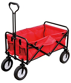 JHJ-Ht8001 Folding Camping Festival Trolley Portable Carry Cart All Terrain Beach Wagon