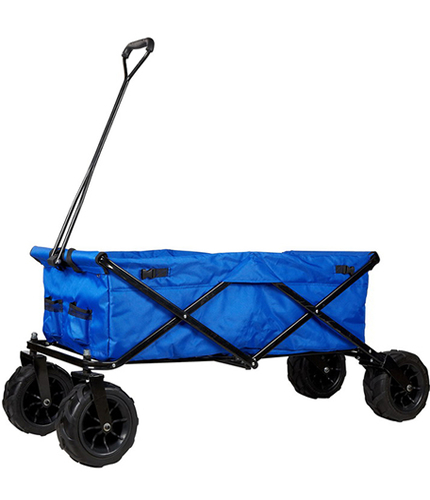 JHR-Ht8002 Folding Camping Festival Trolley Portable Carry Cart All Terrain Beach Wagon