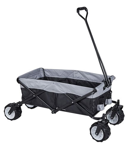 JHR-Ht8003 Folding Camping Festival Trolley Portable Carry Cart All Terrain Beach Wagon