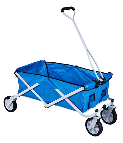 JHR-Ht8004 Folding Camping Festival Trolley Portable Carry Cart All Terrain Beach Wagon