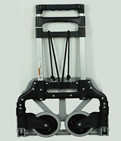 JHZ-Ht8315 Portable Two Wheeled Stair Climbing  Folding  Hand Truck Dolly Trolley